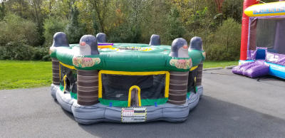 Giant human whack-a-mole game inflatable rental