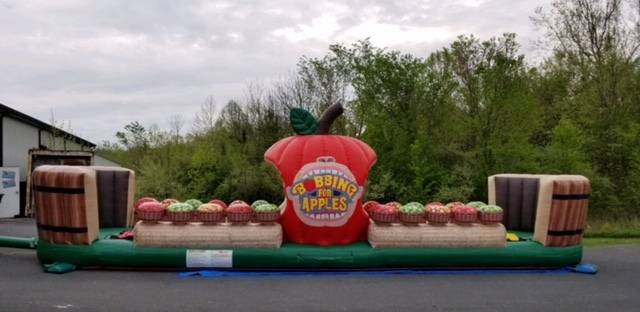 Bobbing for Apples Bungee Run