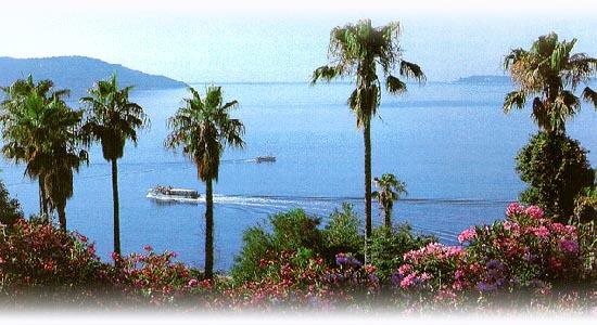 Pogled na ulazak u Bokokotorski zaliv