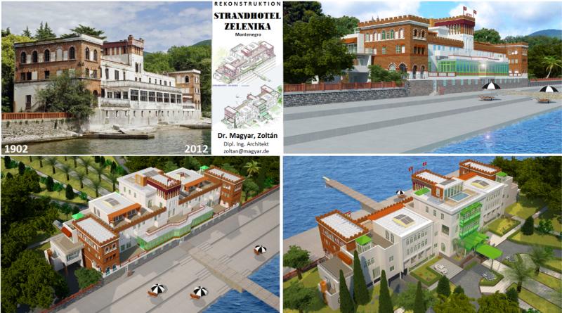 Projekat obnove Starog hotela plaža