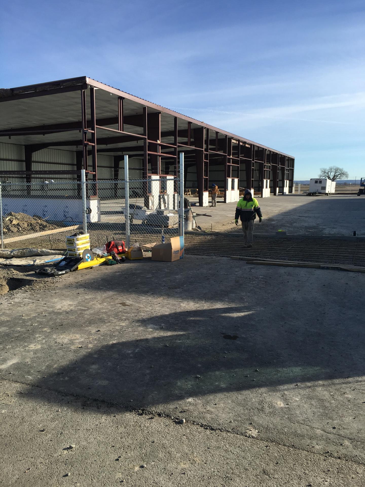 Private construction in progress on B3-L3
