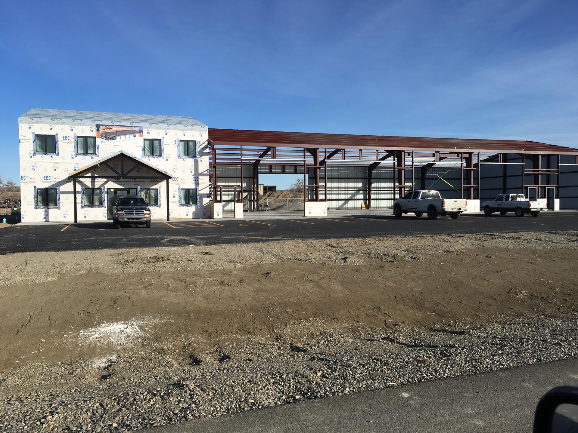 Private construction in progress on B3-L1