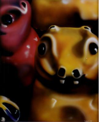 Wac a Mole Heads