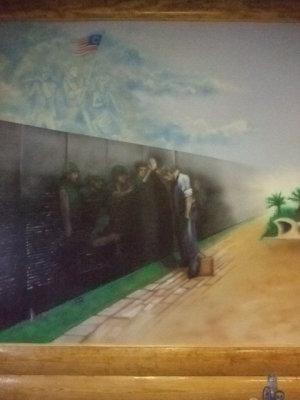 Veterans Mural- detail