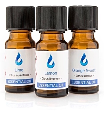 Citrus Collection - Lemon, Lime and Orange Sweet Essential Oil