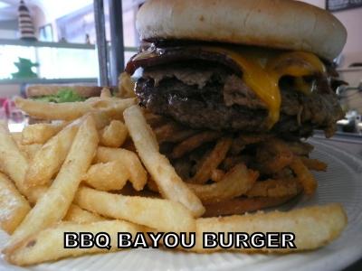 BBQ Bayou Burger