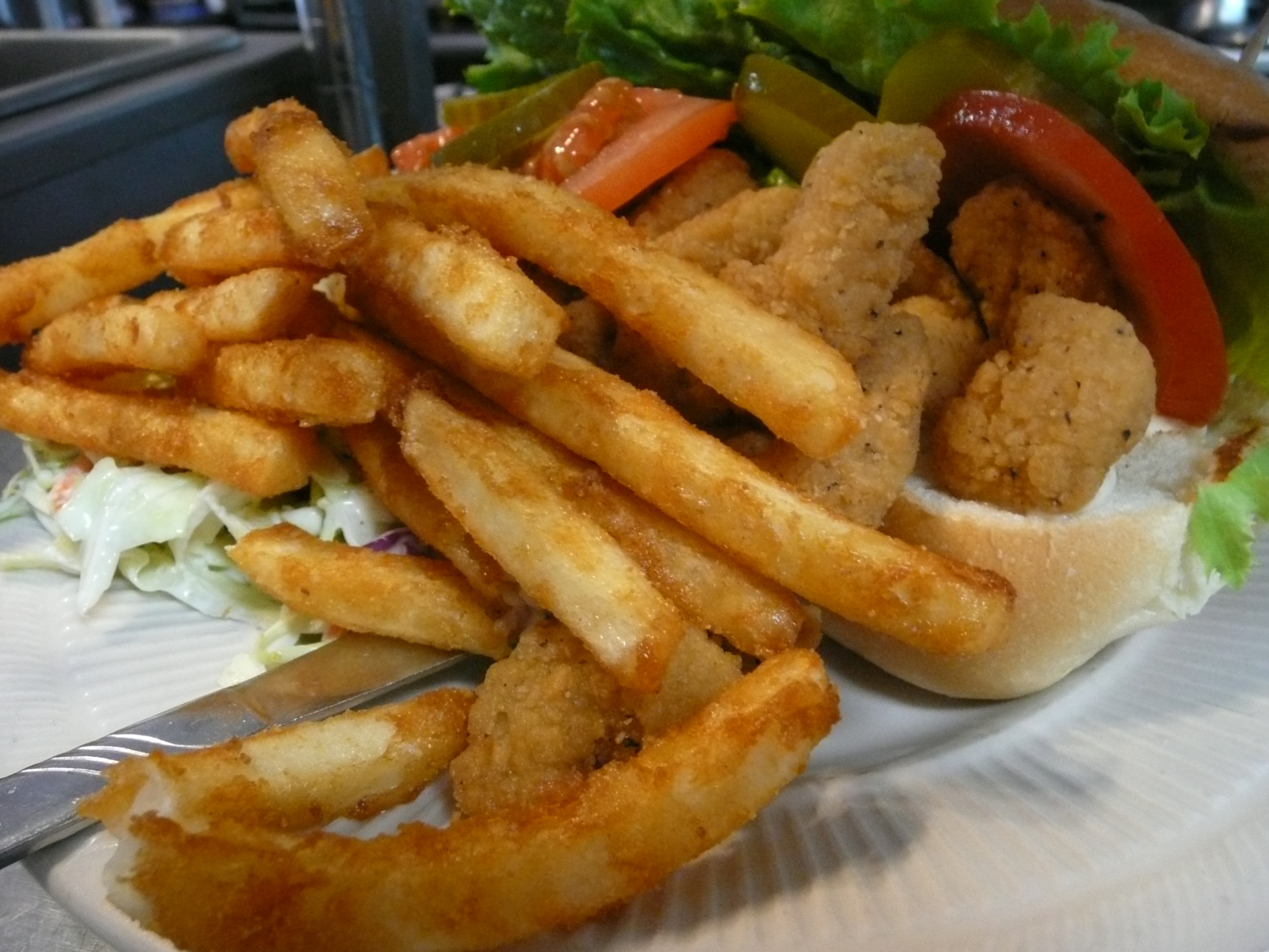 Fried Shrimp Po'Boy
