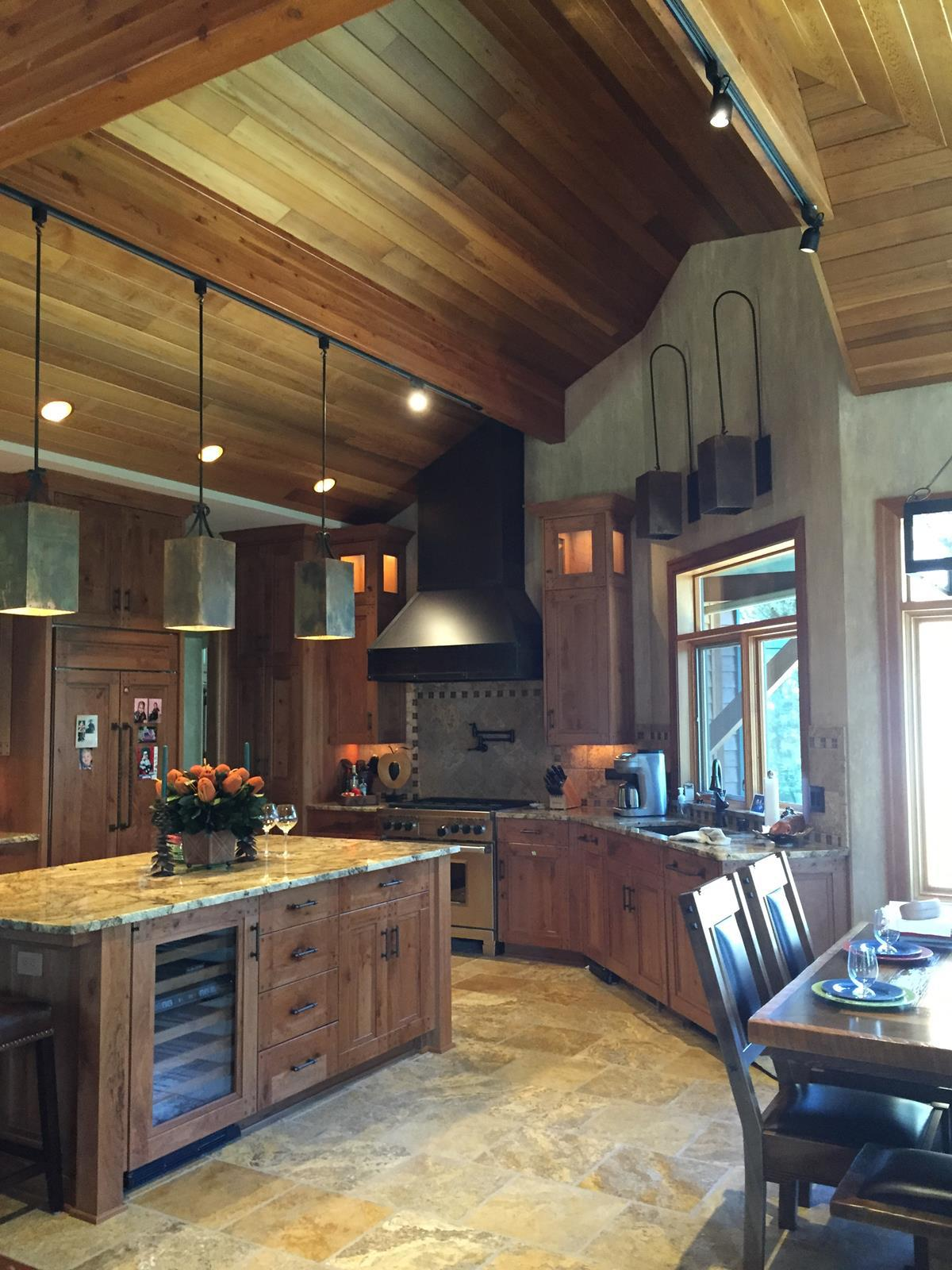 New Kitchen Design in Spokane, Washington, Remodel