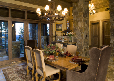 Dining room design in Winter Park
