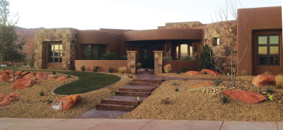 Parade of Homes entry in St. George, Utah