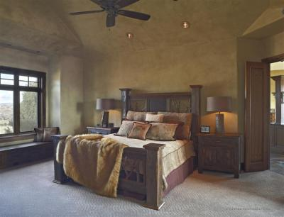Master Bedroom and Retreat in White Deer Valley Parade of Homes