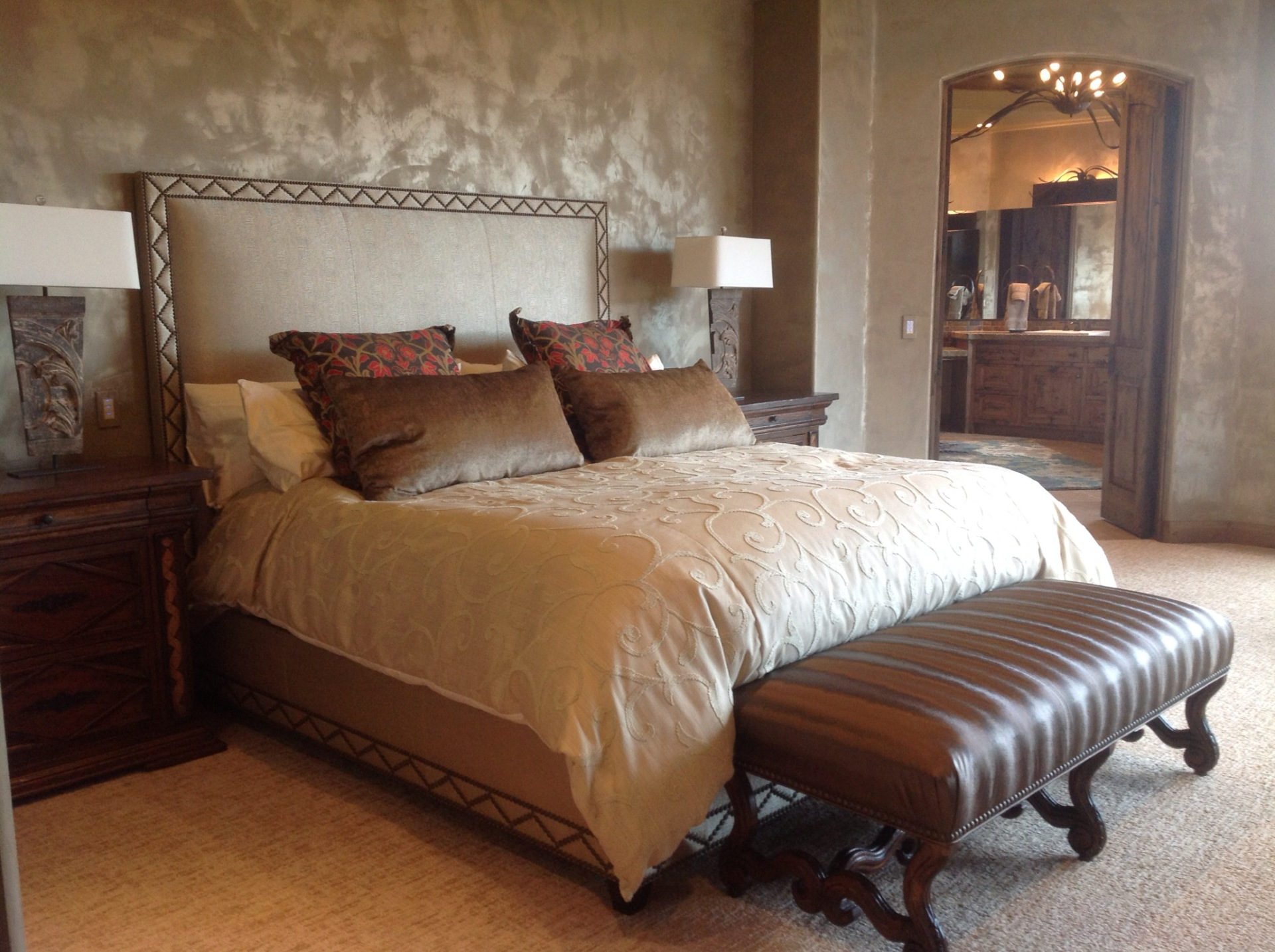 Master Suite in St. George, Utah, Parade of Homes