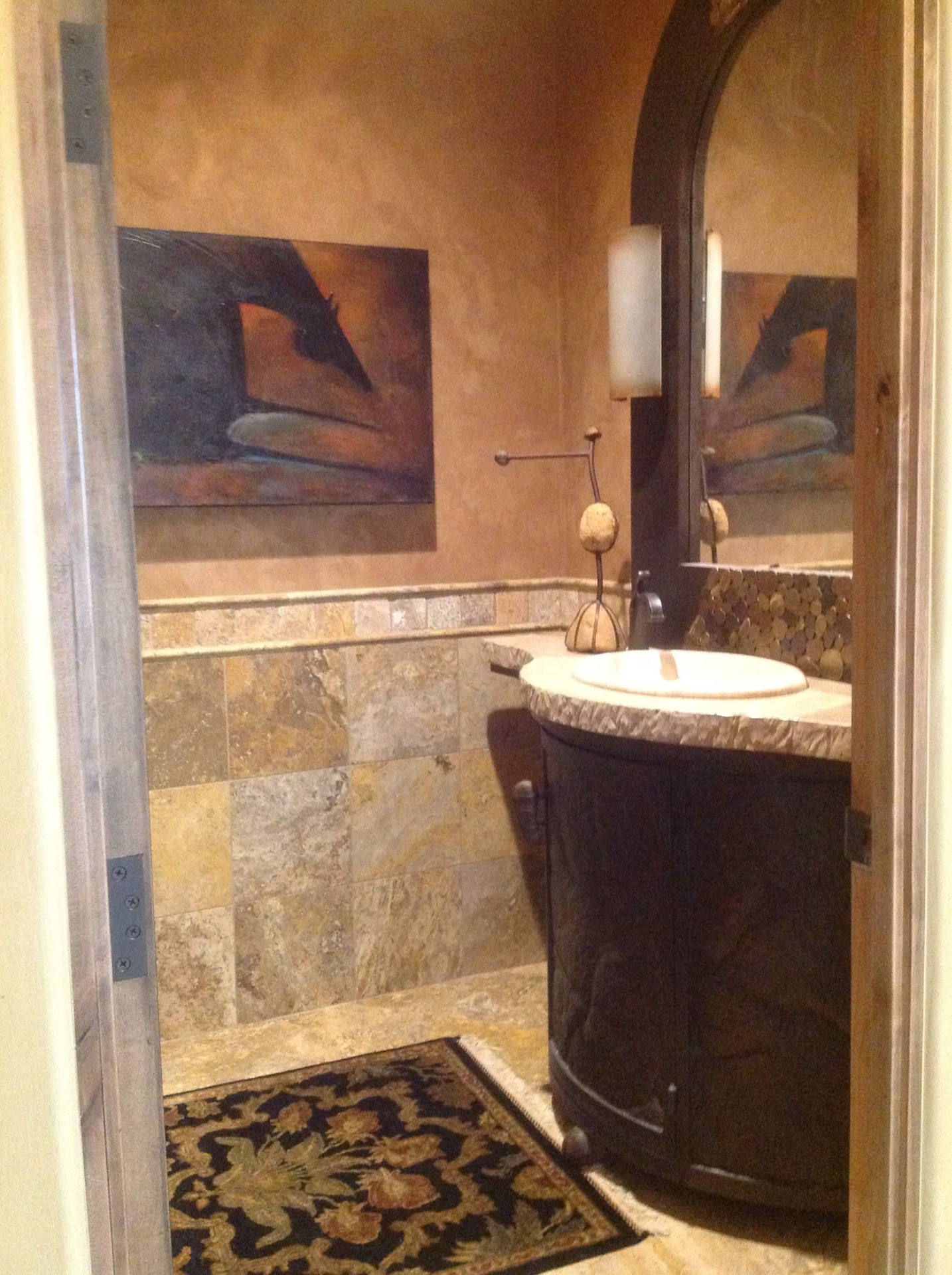 Powder Room in St. George, Utah, Parade of Homes