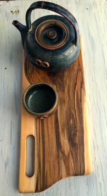 Wormy Maple Cutting/Serving Board