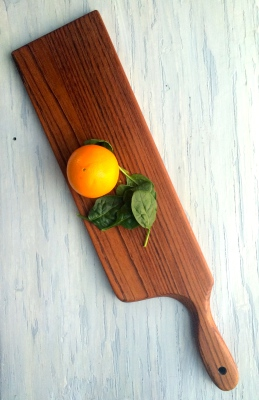Brazilian Cherry Wood Serving Board