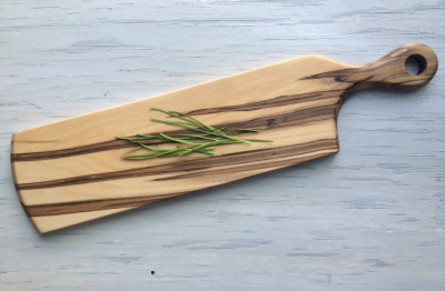 Wormy Maple Wood Serving/Cutting Board