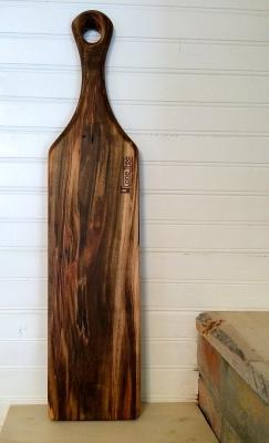 Wormy Maple Baguette Board