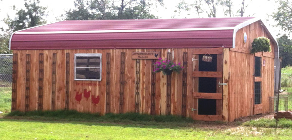 New LP Carport Cedar Barn