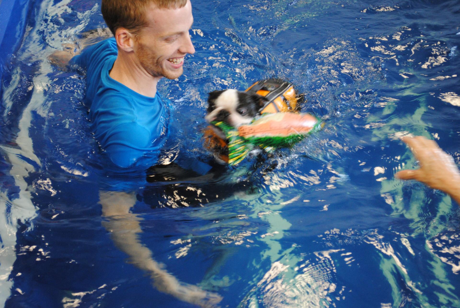 Riverside Rehab Swim Time