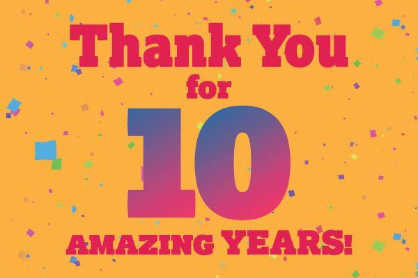 Riverside's 10 Year Anniversary