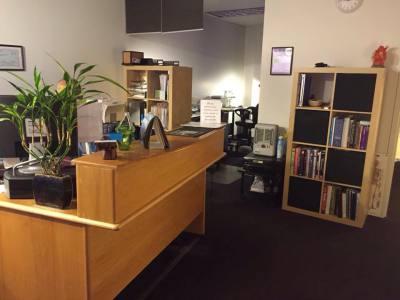 Century Massage Reception Area