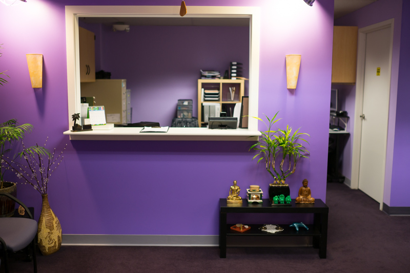 Century Massage in Renton, Washington. Medical Massage waiting area