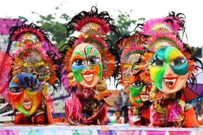 The many colorful cultures in the Philippines!