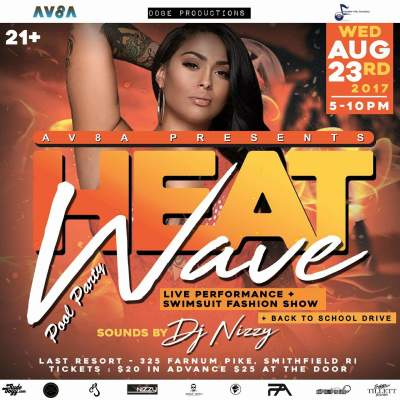 Heat Wave Swimsuit Model Event