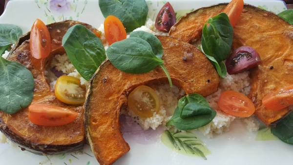 Couscous Pumpkin Salad