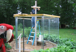 Ruffled Feathers Sanctuary donation of construction services