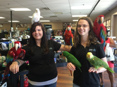 Ruffled Feathers Sanctuary at World of Pets Expo 2016