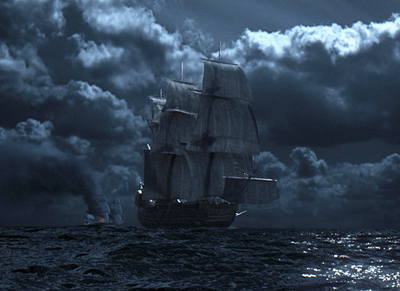 Rain and Pirates