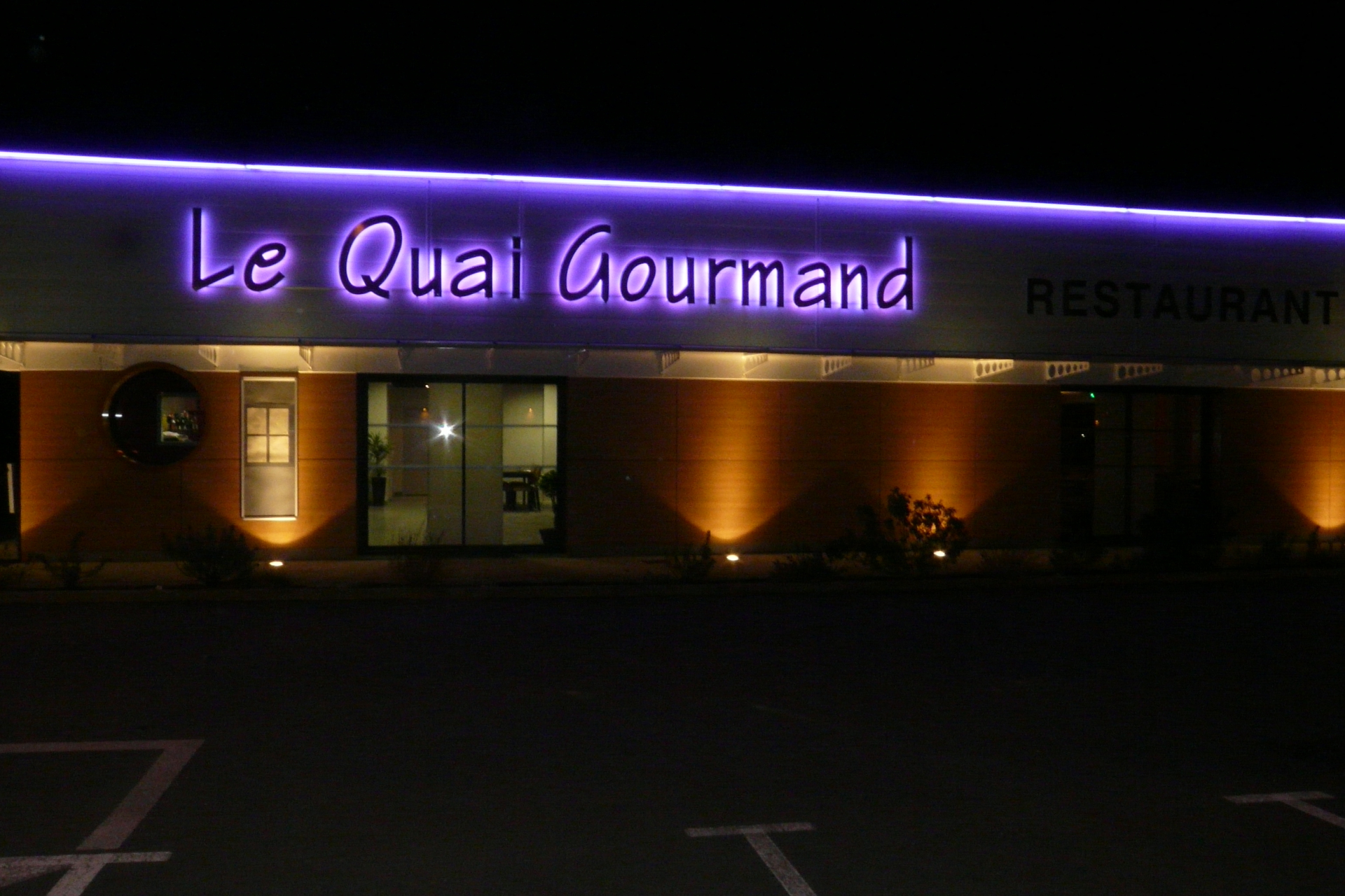 Le quai gourmand ; la chapelle Achard ; la Mothe Achard ; Classique; traditionnel; Classique ; restaurant