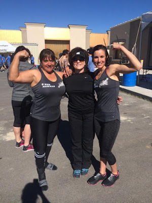 Team WOD Momma at the Crossfit Powerstroke Partner Throw-down