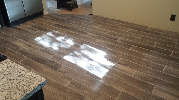 New Tile Flooring