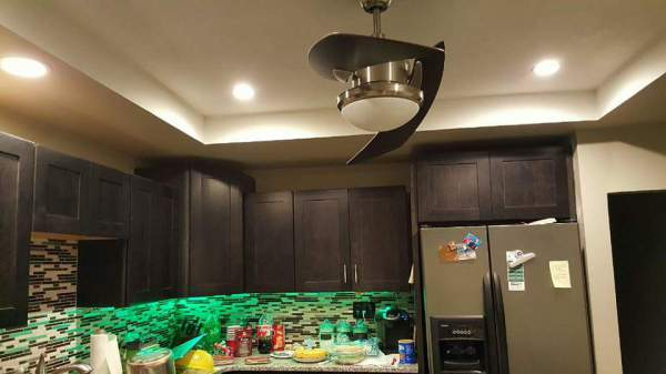 Color LEDs and Fan