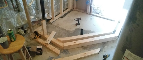 TUB FRAMING