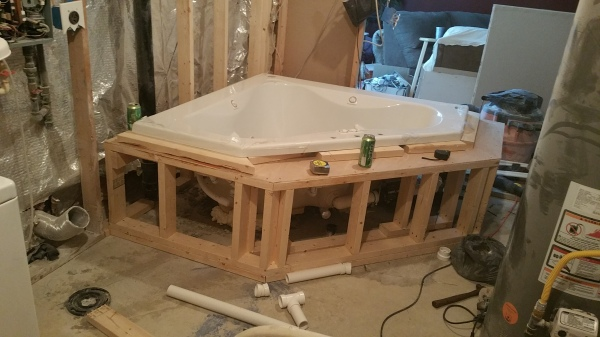 JACUZZI INSTALLED