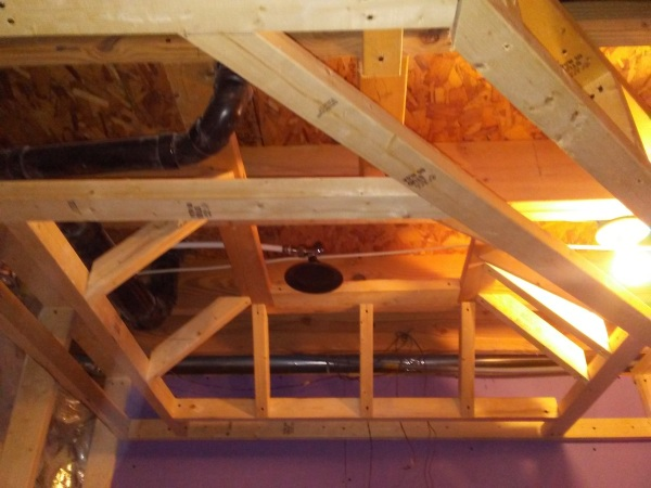 JACUZZI CEILING FRAMING