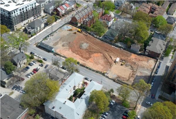Demolition Site Bird Eye View-2