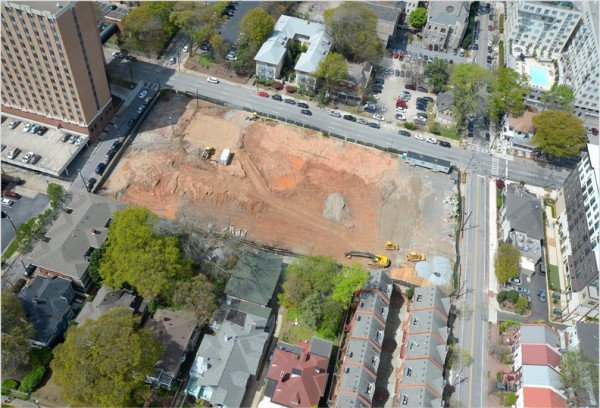 Demolition Site Bird Eye View-3