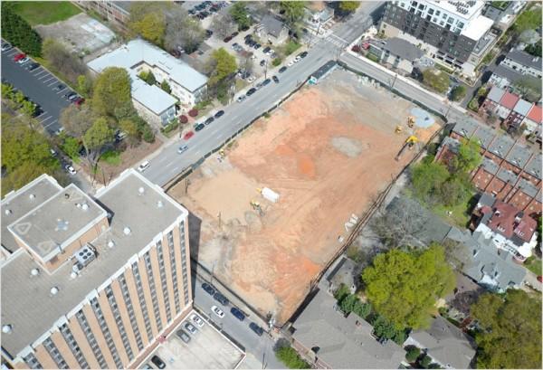 Demolition Site Bird Eye View-1