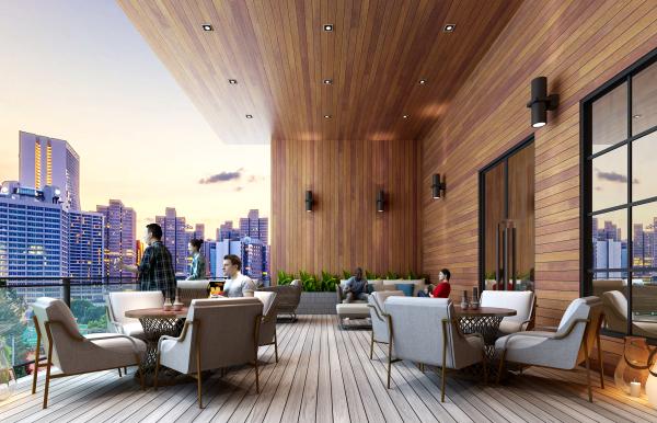 屋顶平台效果图