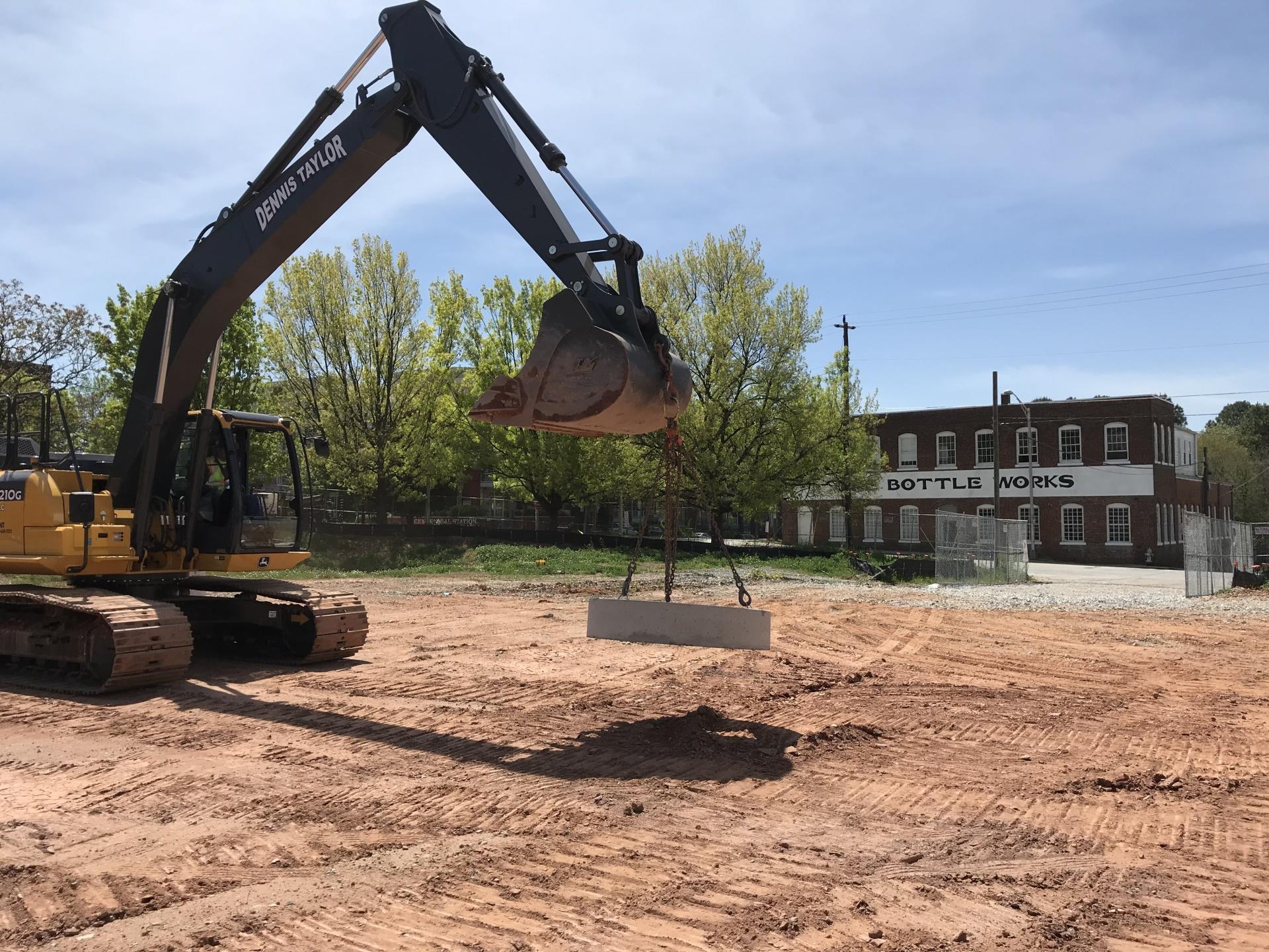 土壤处理,清理场地