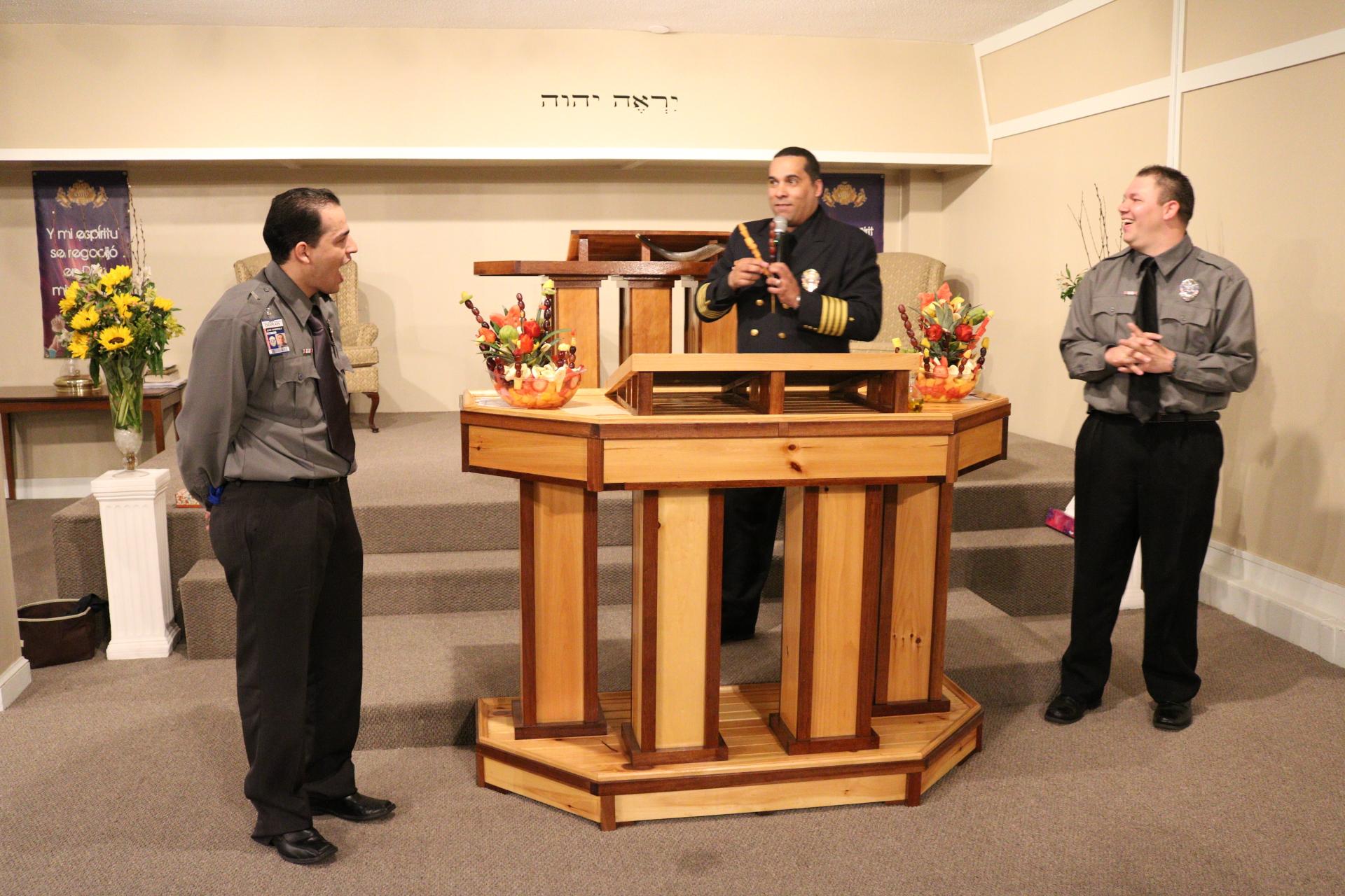 Las primicias antes de entregar a los predicadores