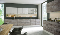 Driftwood light grey and Supermatt light grey