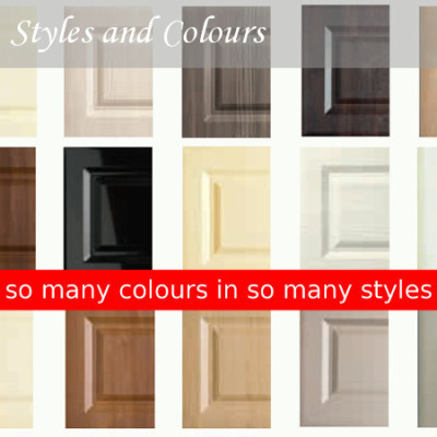 So many colours and styles