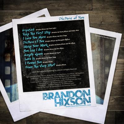 Picture of You - Back - Brandon Hixson