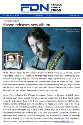 Brandon Hixson Picture of You Article