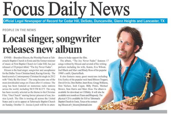 Brandon Hixson Focus Daily News